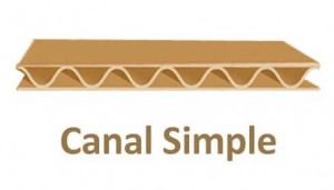 canal simple carton caja