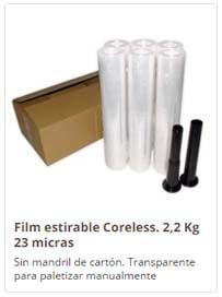 film coreless, film sin mandril